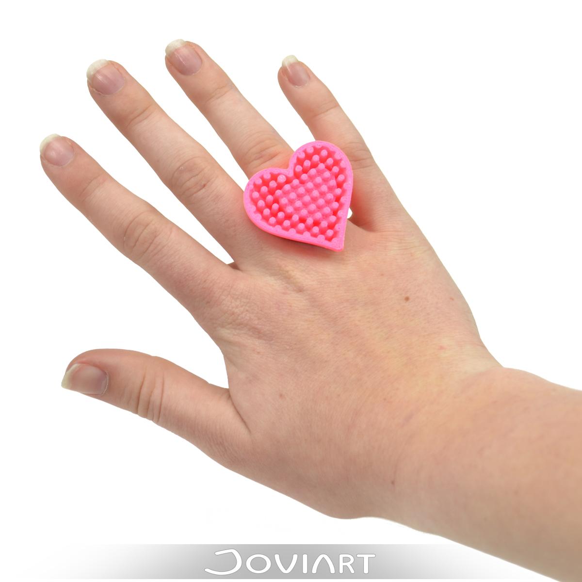 heart mine ring hart valentijn kado hanger