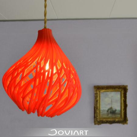 rooted light plafondlamp 3d printed